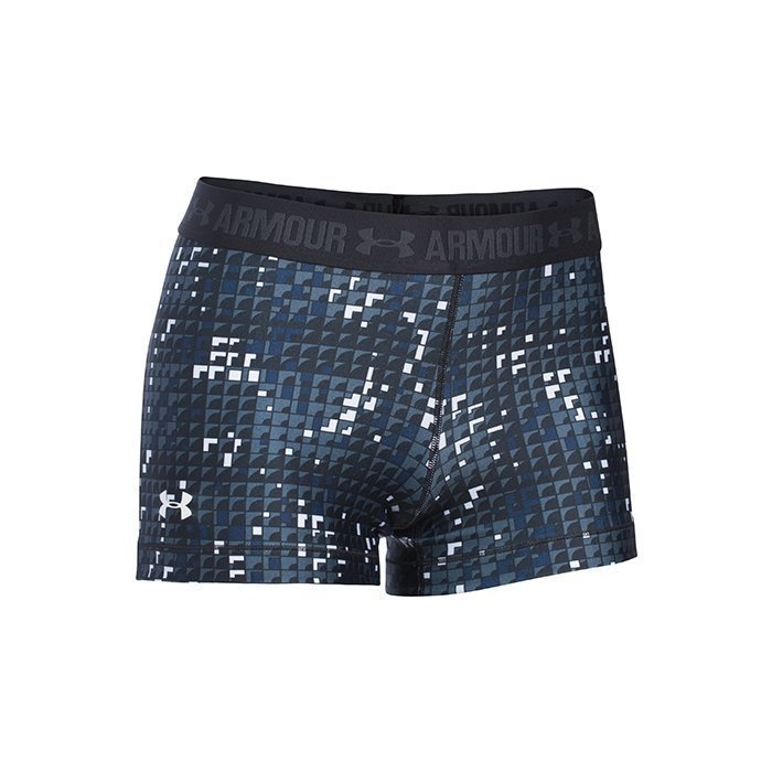 Under Armour UA HG Armour Printed Shorty Black Shadowboxing X-small