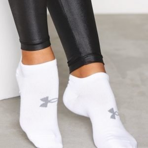 Under Armour Ua Essential Cotton Ns 6p Treenisukat Valkoinen
