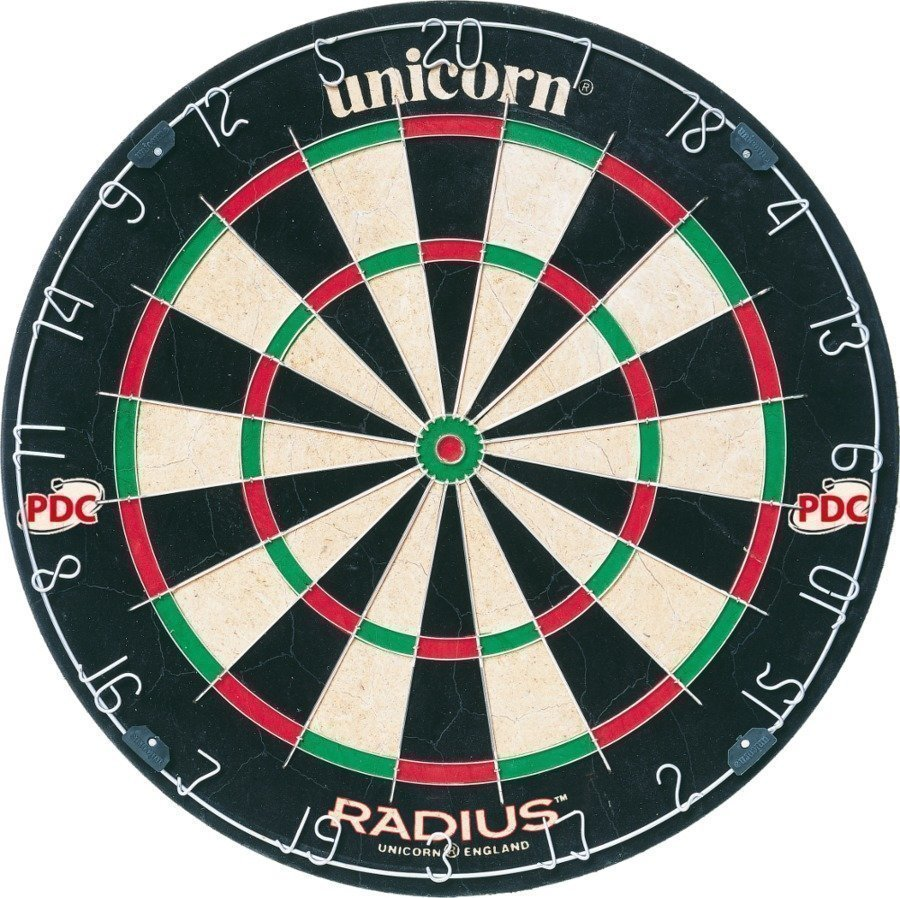 Unicorn Radius Darts Taulu