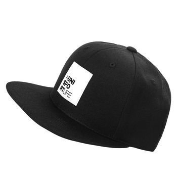 Unisportlife Collection Lippis Snapback Musta