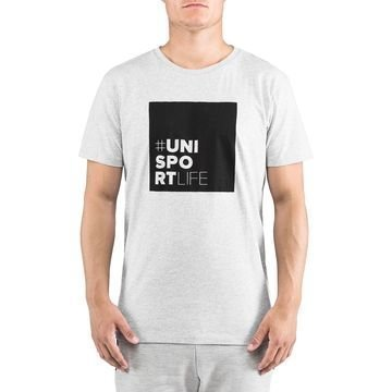 Unisportlife Collection T-Paita #ninetyfive Harmaa