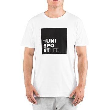 Unisportlife Collection T-Paita #ninetyfive Valkoinen