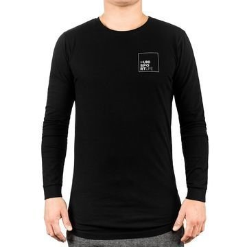 Unisportlife Collection T-paita L/S #lynx Musta