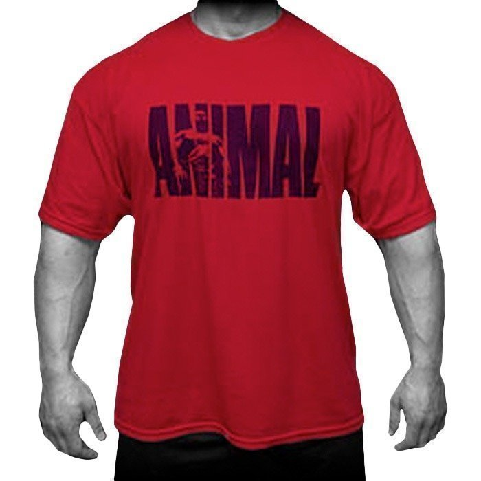 Universal T-Shirt Animal Iconic Red