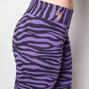 Urban Goddess Yoga Leggings Bhaktified Purple Rain
