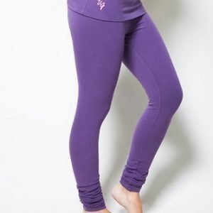 Urban Goddess Yoga Leggings Shaktified Purple Rain