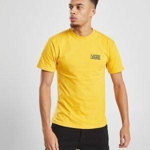 Vans Twin V Short Sleeve T-Paita Keltainen