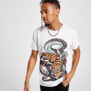 Vole La Lumiere Jungle T-Shirt Valkoinen
