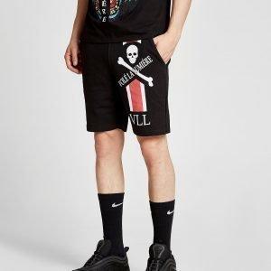 Vole La Lumiere Skull Shorts Musta