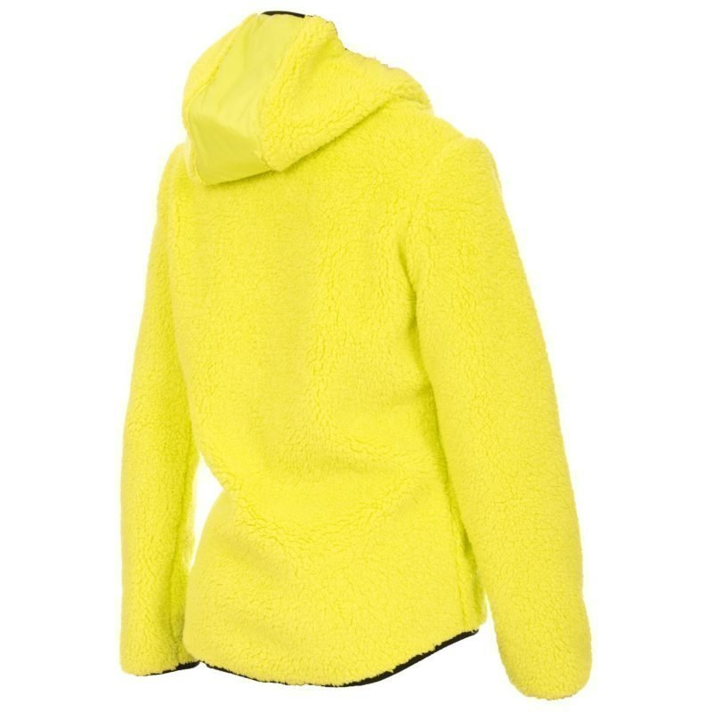 W Performance Teddy hooded L Fleece takki hupulla