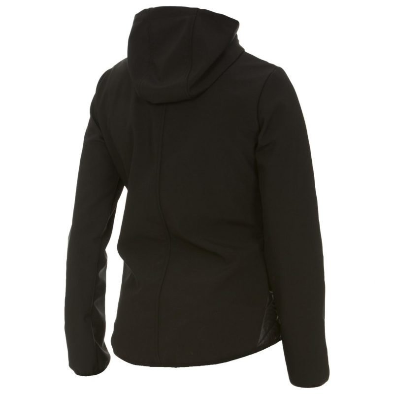 W Performance quilted hood S Softshell kevyt toppatakki