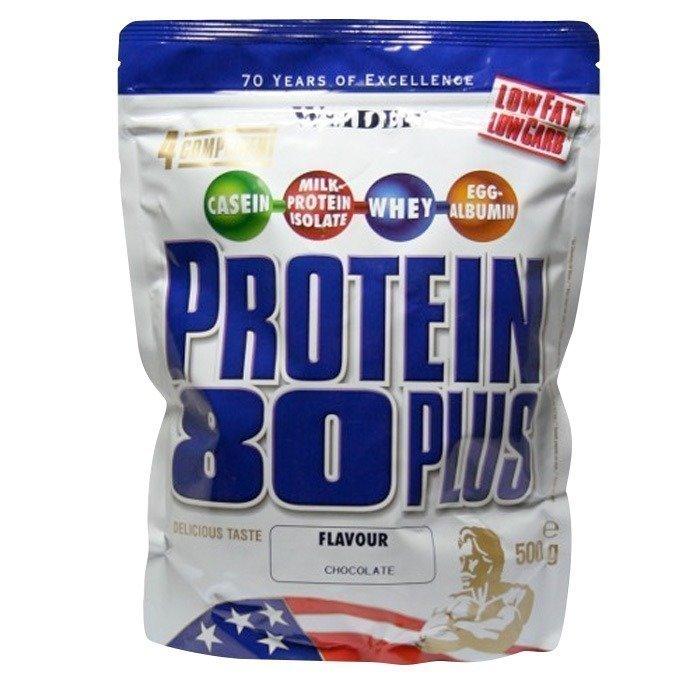 Weider Protein 80+ zip bag 500g Mansikka