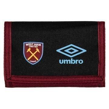 West Ham United Lompakko Musta/Viininpunainen