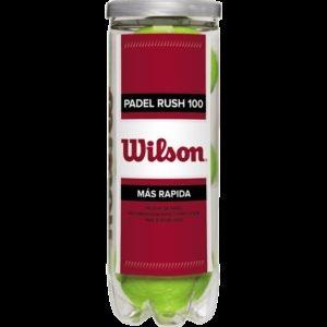 Wilson Padel Rush 100 Padel Pallo 3-Pakkaus