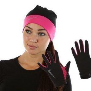 Wmns Run Beanie/Glove Pack