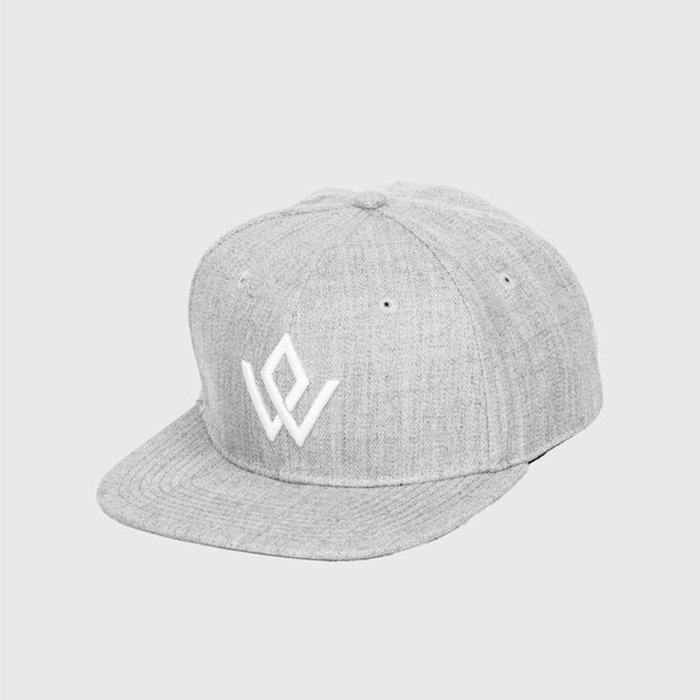 Workout Empire Embroidered Cap Silver OS