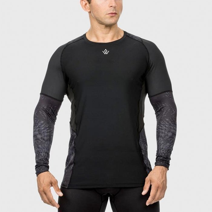 Workout Empire High Performance Longsleeve Raven M