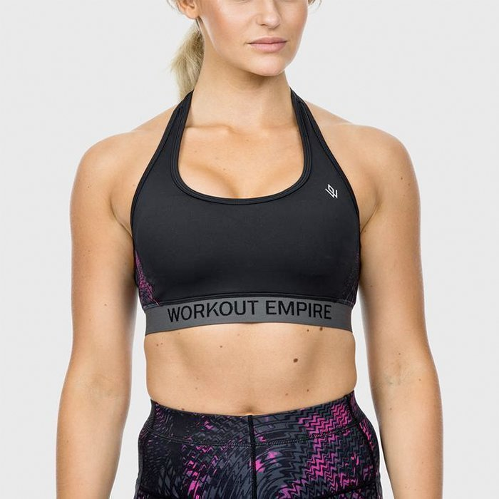 Workout Empire High Performance Sports Bra Amaranthine XS