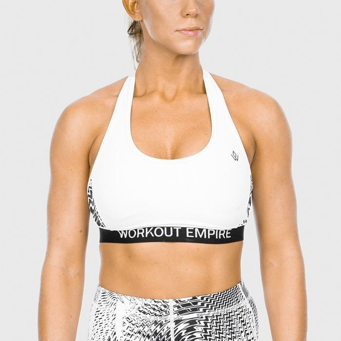 Workout Empire High Performance Sports Bra Snow