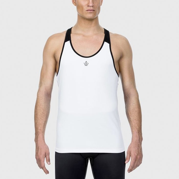 Workout Empire Imperial Y-Tank Pearl L