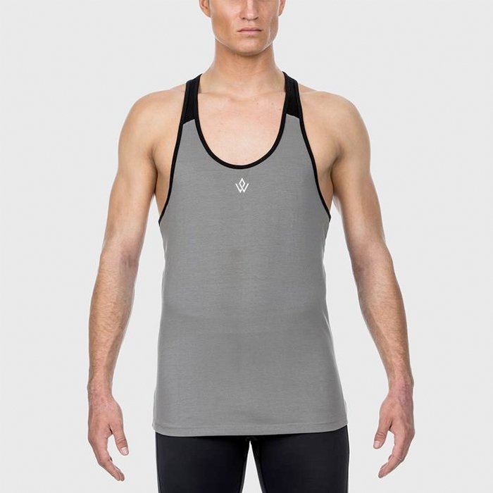 Workout Empire Imperial Y-Tank Platinum L
