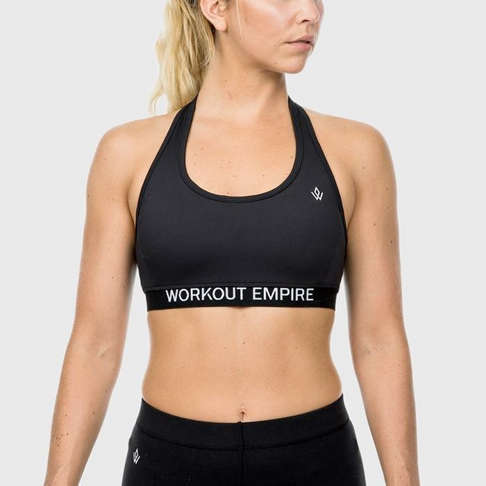 Workout Empire Performance Sports Bra Obsidian