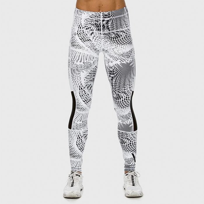 Workout Empire Womens High Performance Tights Snow M