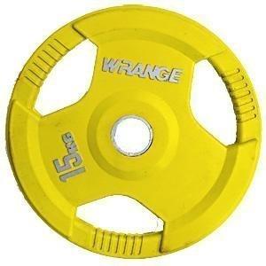 Wrange Pro Grip 15 Kg Keltainen Levypaino