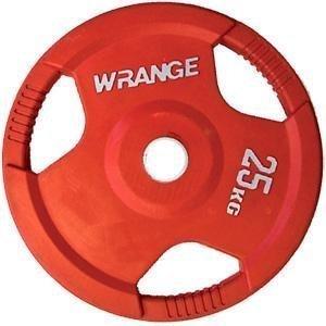 Wrange Pro Grip 25 Kg Punainen Levypaino