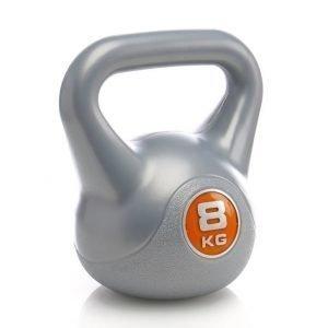 Wrsport Kettlebell 8kg Kahvakuula Harmaa / Oranssi