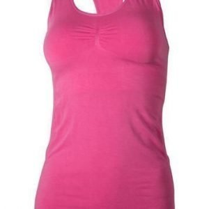Yoga Flow Tank with Removable Cups fuksia