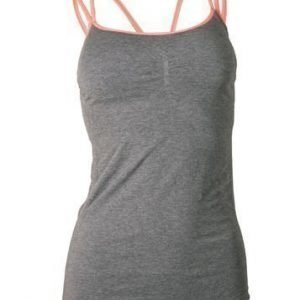 Yoga Flow Top with Removable Cups Marle/Coral