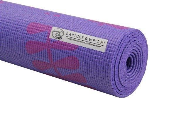 Yoga Mad Aurora-joogamatto 4 mm liila ja harmaa Limited edition!
