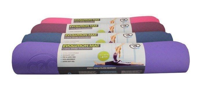 Yoga Mad Ekologinen joogamatto TPE 4mm 4 väriä