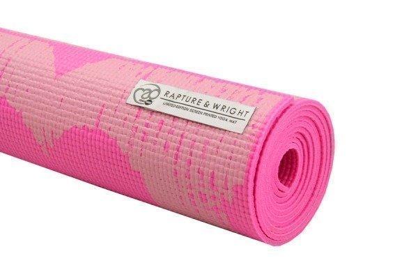 Yoga Mad Madaket-joogamatto 4 mm pinkki ja sininen Limited edition!