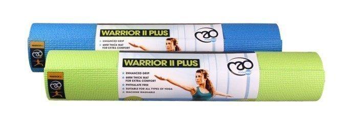 Yoga Mad Warrior II Plus joogamatto 6mm 3 väriä