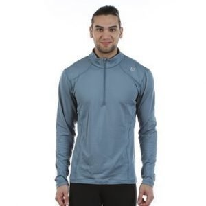 nVision Zip Neck Long Sleeve